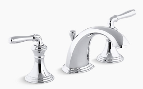 Remove The Handles For The Devonshire Bathroom Faucet Kohler