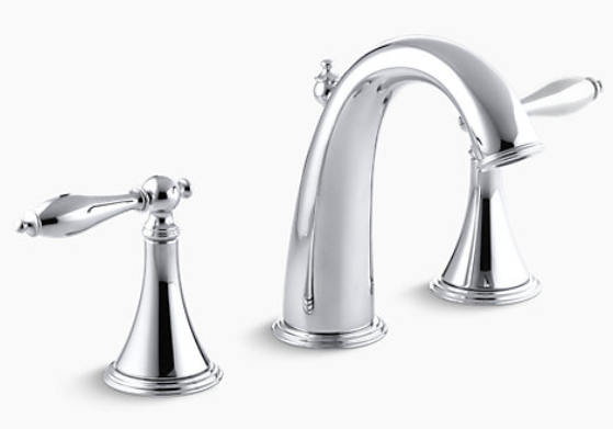 Remove The Handles For The Finial Bathroom Or Kitchen Faucet Kohler