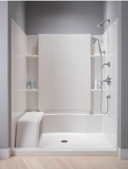 Sterling Accord Seated Showers And Shower Curtains Kohler