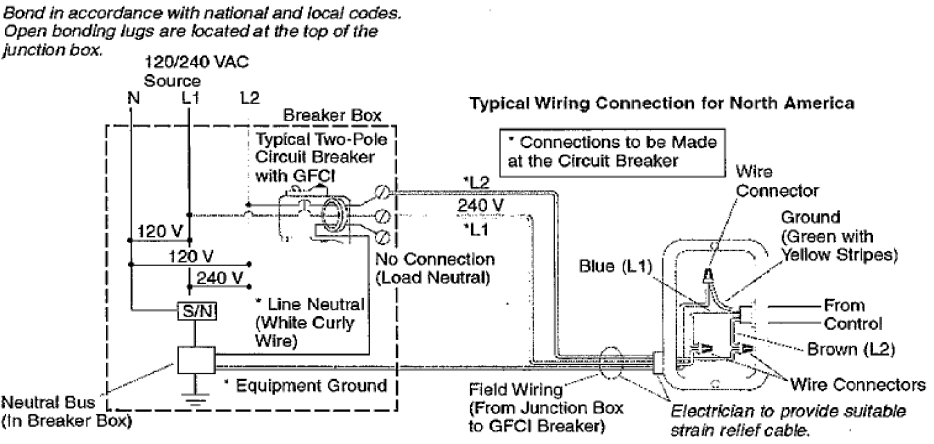 Troubleshoot Experience Whirlpool Not Turning On Or Off Kohler 110 Volt Gfci Breaker Wiring Diagram Verify That The Dedicated Service To Field Box Is A 220v Two Wire Connection Fig 2