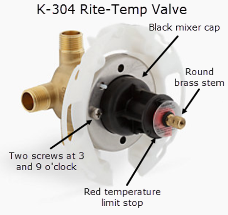 Single Control Bath Shower Valve Kohler